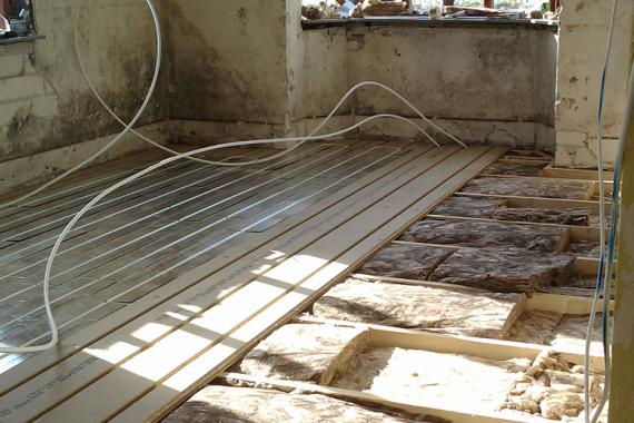 gulv, gulvarme, nyt gulv, tømrermester, miljøbevidst, miljørigtig, byggeri, tømrer, stevns, store heddinge