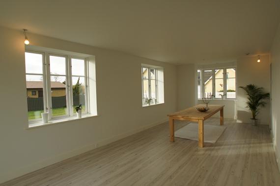 stue, renovering, hjem, ny stue, byggeri, tømrer, tømrermester, stevns, sjælland