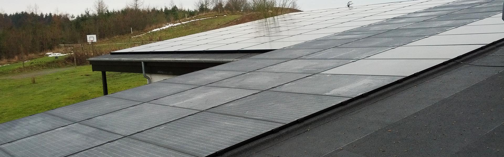 Solceller, miljø, tømrer, tømrermester, stevns, sjælland, miljøbevidst byggeri